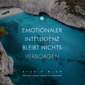 Emotionaler Intelligenz bleibt nichts verborgen